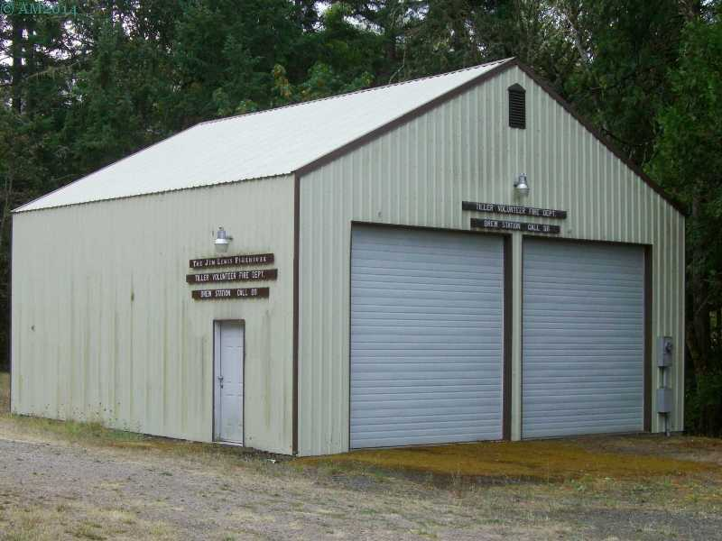 The fire station at Drew, Oregon.